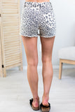 Leopard Print Kan Can Shorts