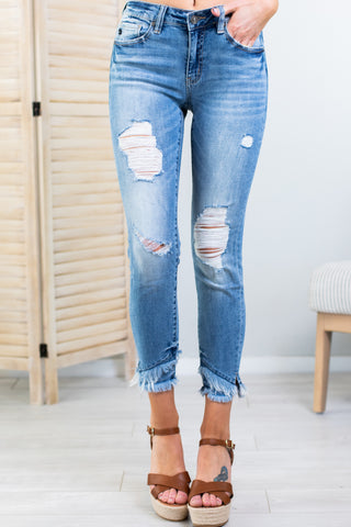 Gemma Kan Can High Rise Ankle Skinny