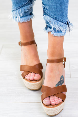 Glass Slipper Rose Gold Sandals