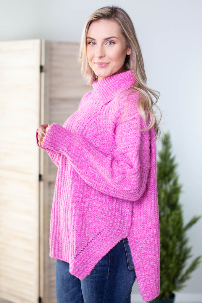 Aspen High Low Sweater