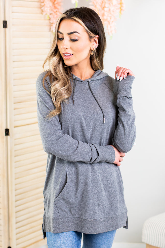 Raglan High Low Hoodie-2 Colors!