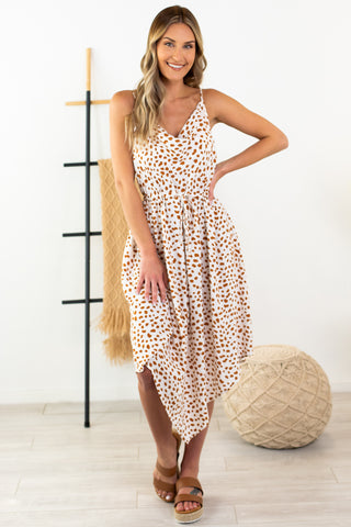 Jungle Life Wrap Dress