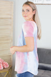 Go With The Flow Tie Dye Top