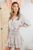 Jill Smocked Waist Dress - 2 Colors