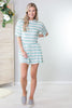 Jersey Shore Striped Romper