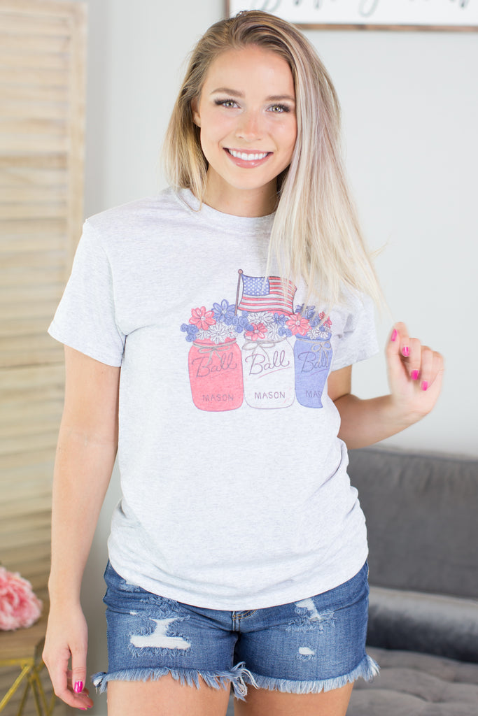 Jar Patriotic Top