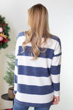 Riddler Striped Pocket Top