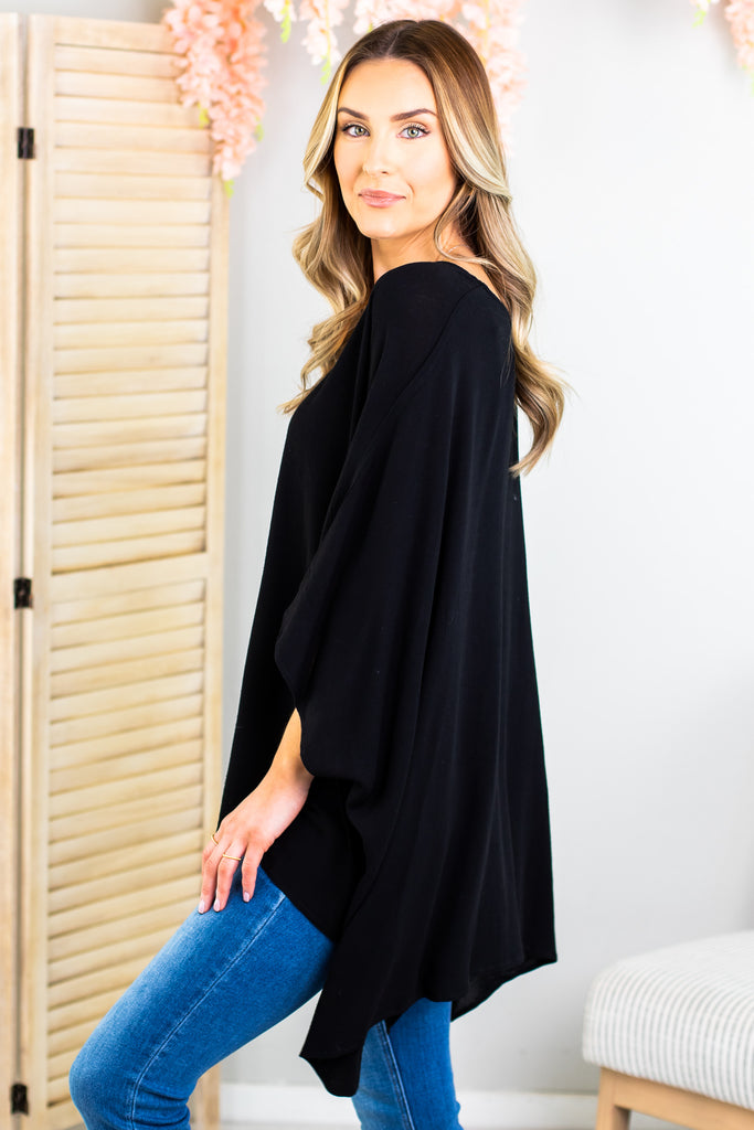 Maria Drop Shoulder Tunic Top - 3 Colors