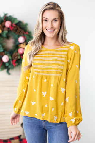 Teachers Helper Ruffle Top - 2 Colors
