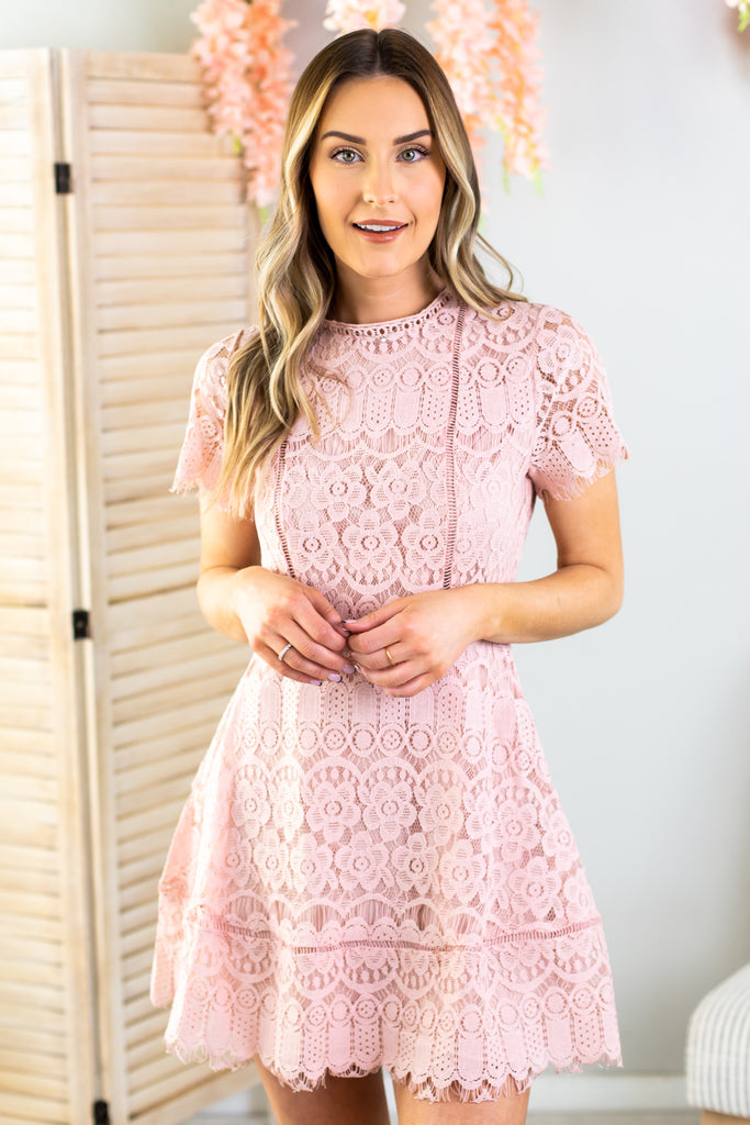 Anne Marie Lace Dress