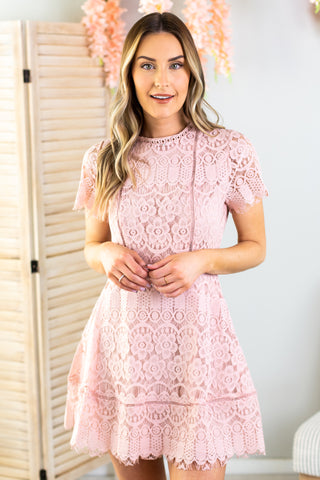 Elle Woods Smocked Dress