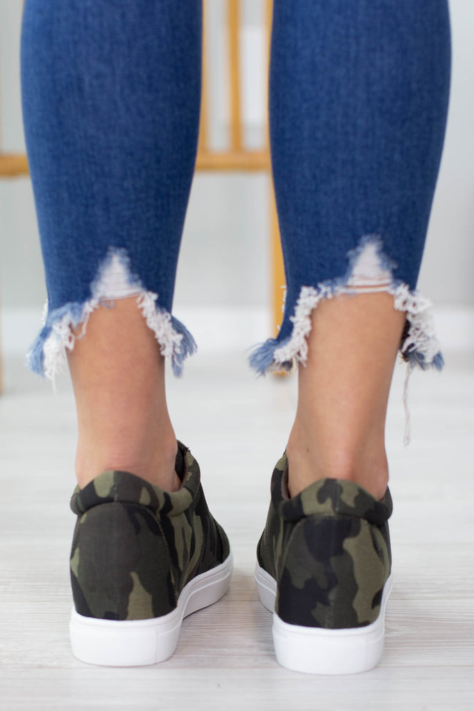 Under Cover Camo Hidden Heel