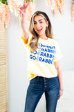 Go Rabbits Graphic Tee