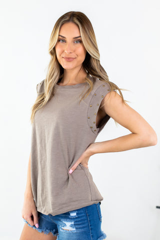 Heather Thin Strap Tank-4 Colors!!