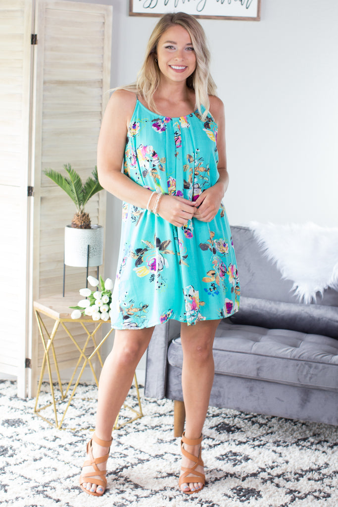 Beautiful Day Floral Dress