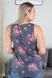 Presley Sleeveless Floral Top