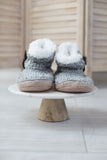 Cozy Up Button Accent Slippers