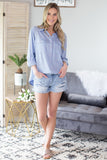 Pearl Button Down Top