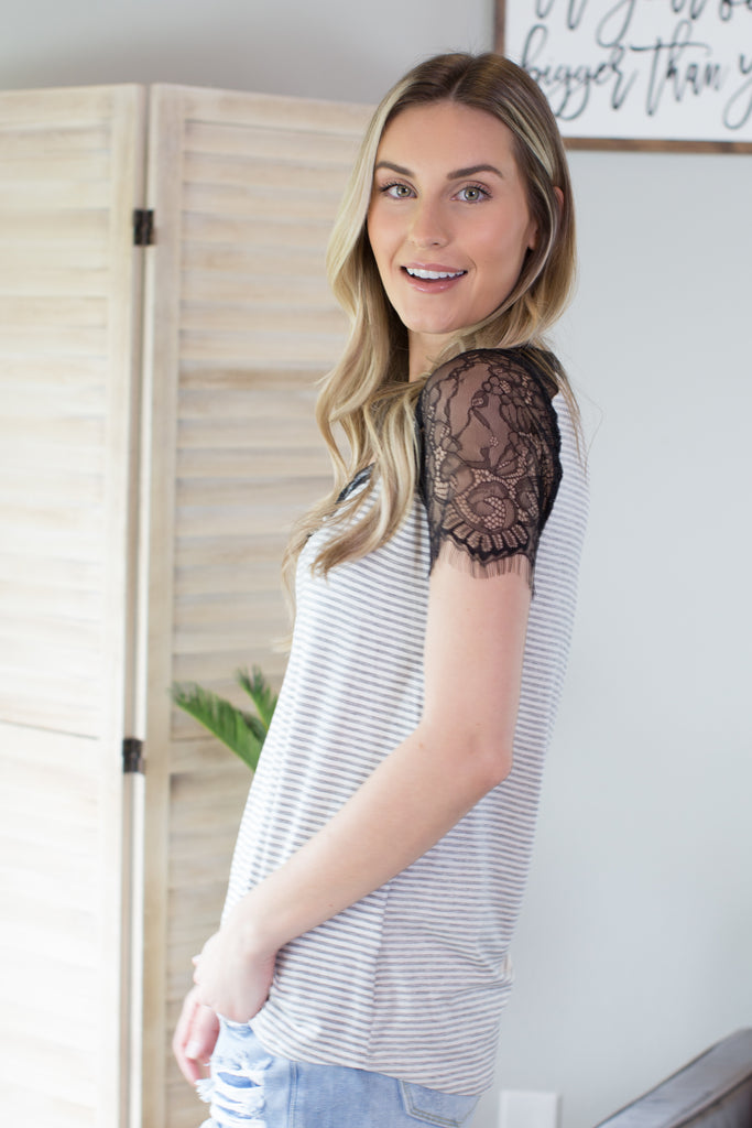 Amie Lace Top
