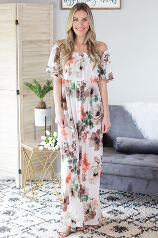 Summer Picnic Maxi Dress
