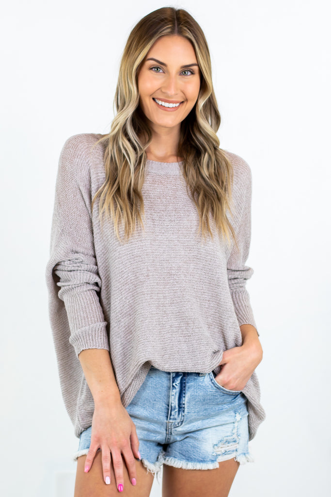 Always Comfy Spring Sweater