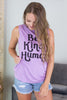 Kind Human Graphic Tank- 2 colors!