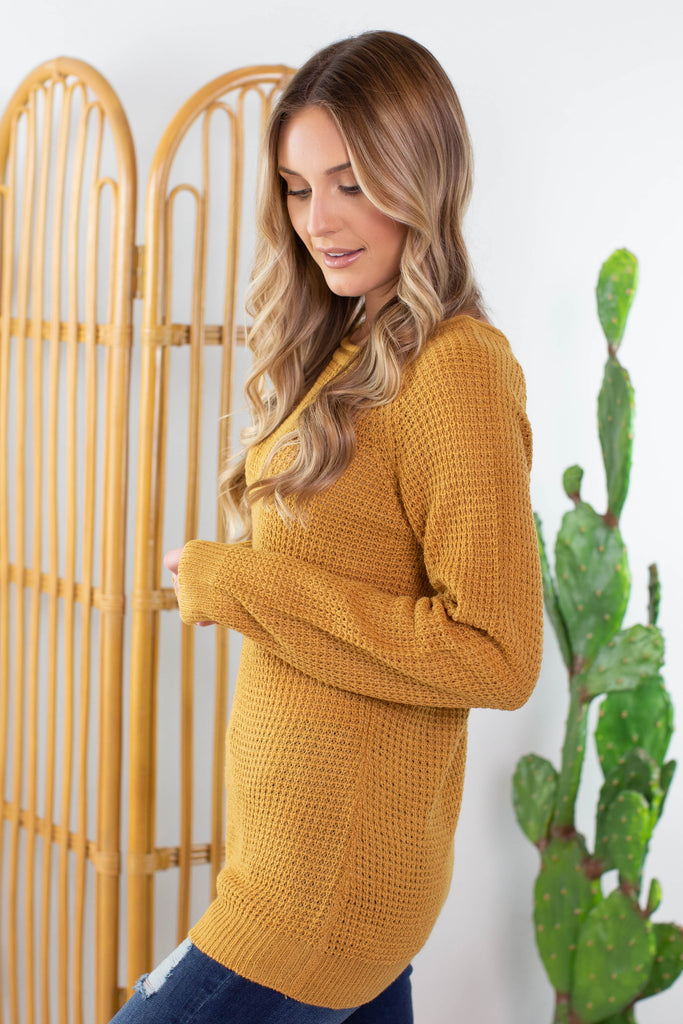Sheperd Knit Sweater- 5 colors!