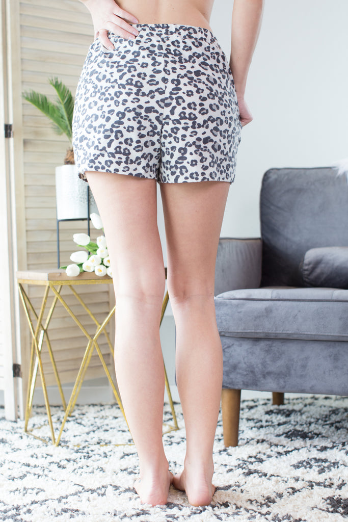 Wild Side Leopard Shorts
