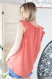 Sandy Babydoll Top - 2 Colors