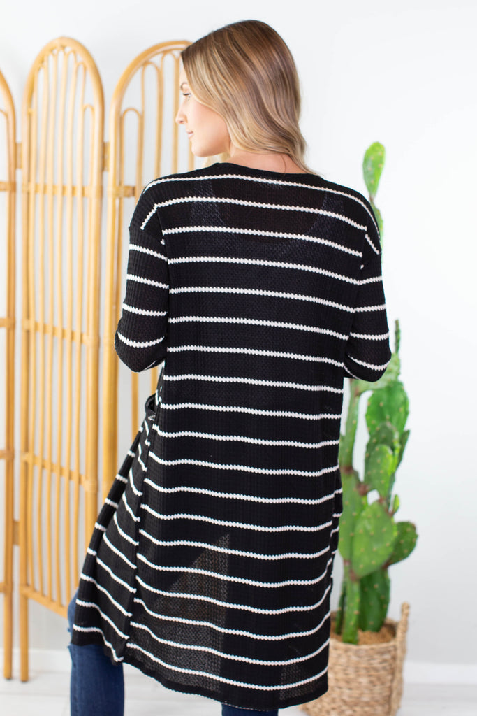 Dusk To Dawn Striped Cardigan