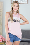 Happy Times Leopard Detail Tank