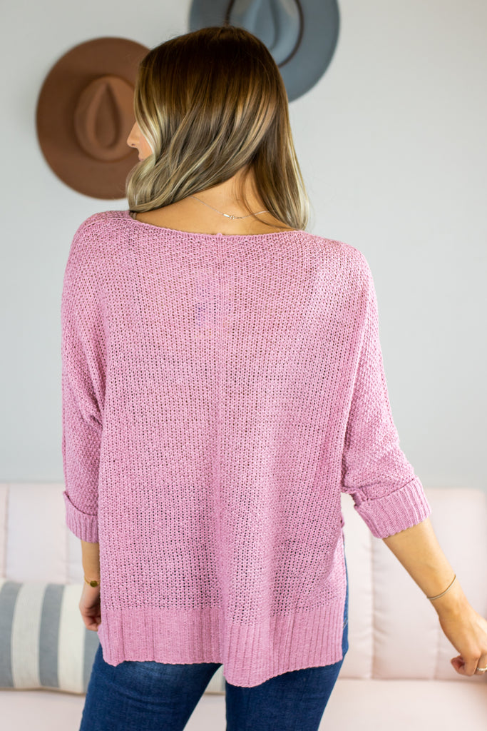 Encore Knit Sweater - 2 Colors