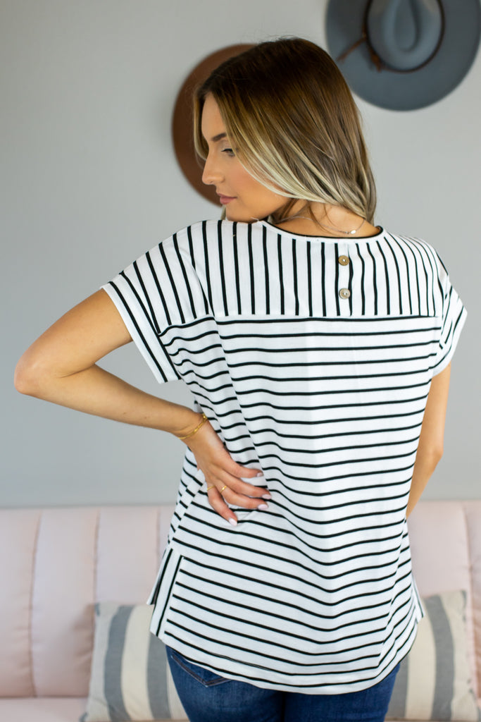 Justified Striped Top