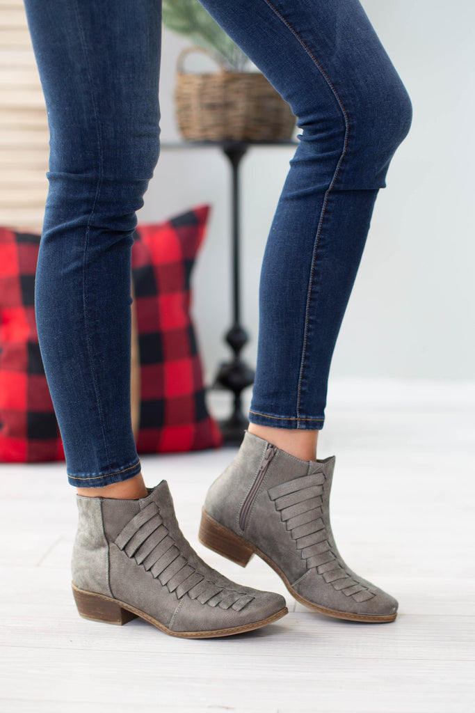 Isabel Woven Booties