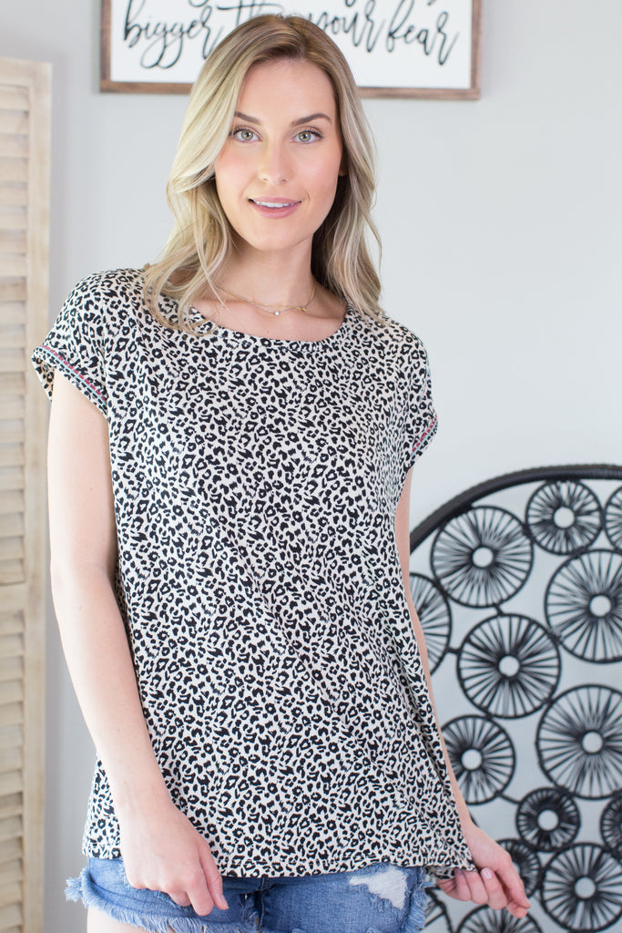 Zoo Keeper Animal Print Top