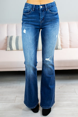 Bo Derek High Rise Skinnys Vervet By Flying Monkey
