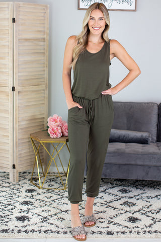 Lunch Date Button Down Romper-2 Colors!!