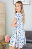 Flowers In Bloom Tiered Dress