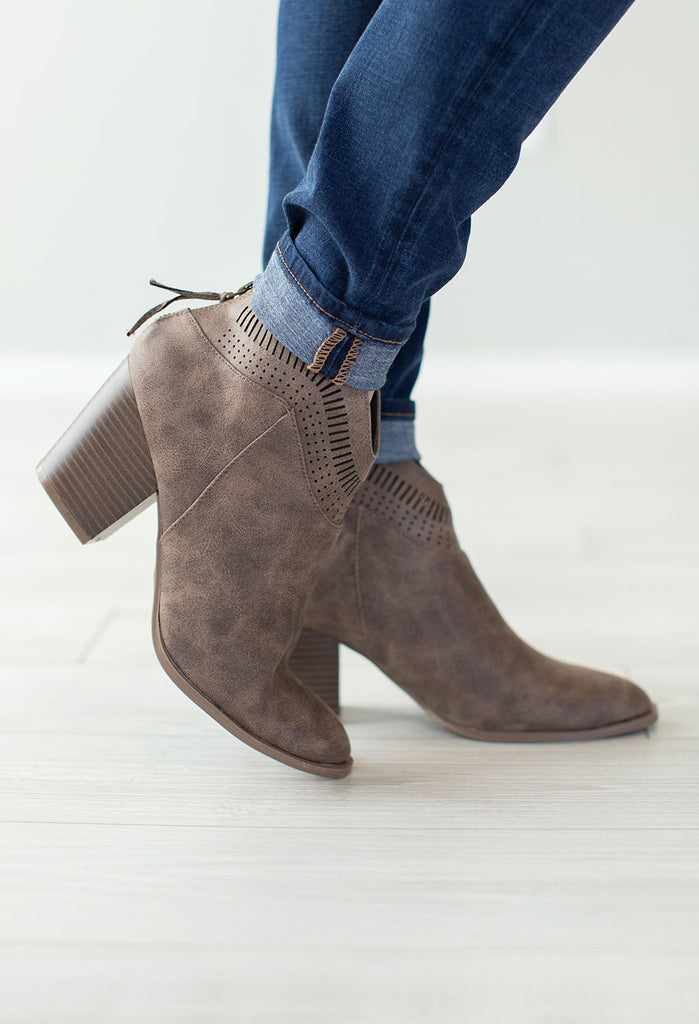 Preston Cutout Booties
