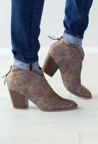 Rager Cut Out Booties