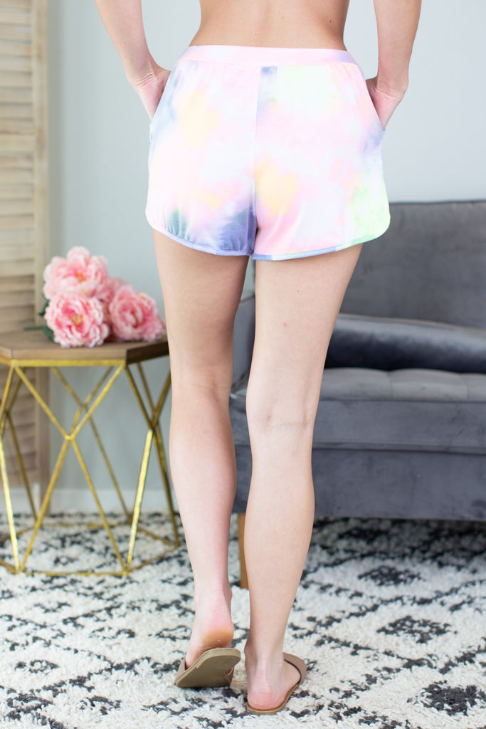 Keep It Fun Tie Dye Shorts