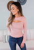 Bianca Cut Out Top - 5 Colors