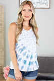 Tree Hugger Tie Dye Tank - 2 Colors