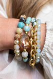 Athena Layered Stretch Bracelet-2 Colors!!