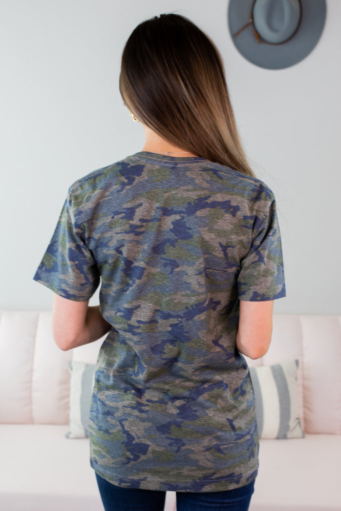 Midwest Camo Graphic Tee