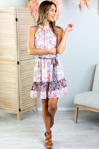 Lottie Flower Dress