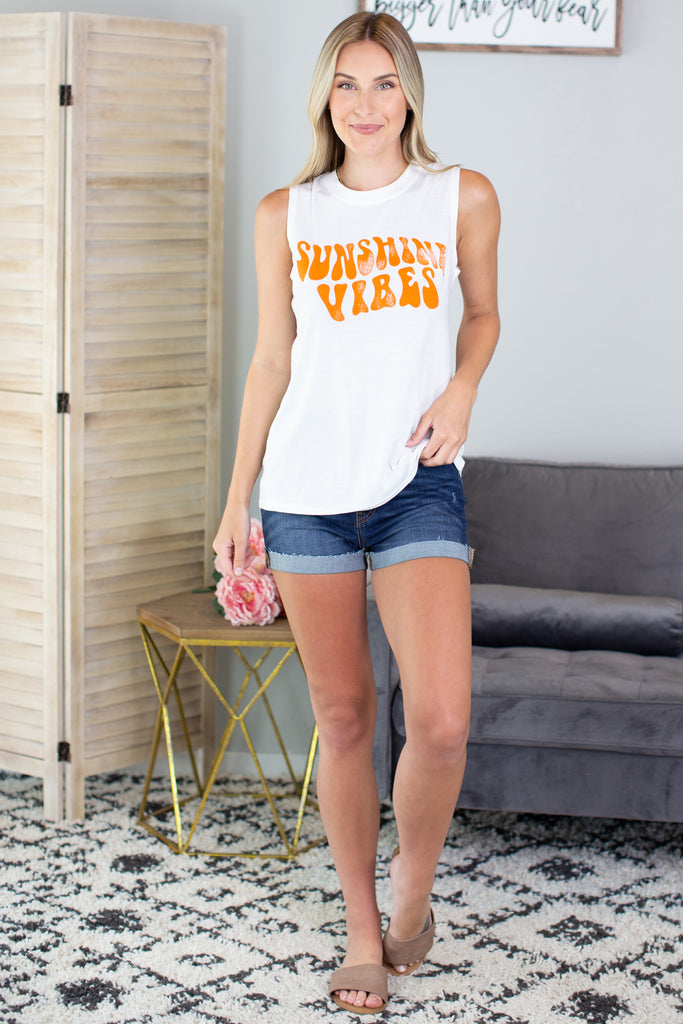 Sunshine Vibes Graphic Tank