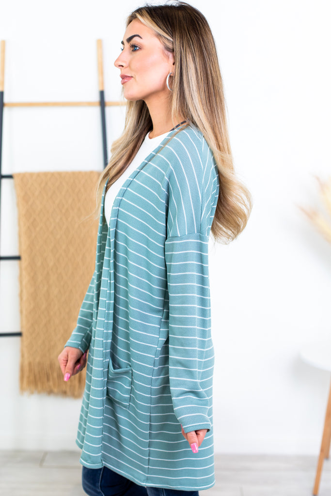 Everywhere Striped Cardigan - 2 Colors!!!