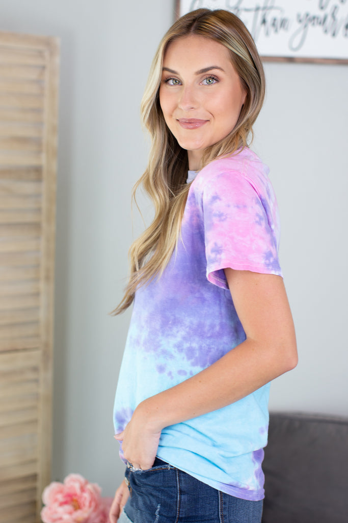 Out Of This World Tie Dye Tee