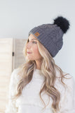 Night Rider Pom Beanie
